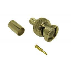 BNC Crimp plug RG58 (Die cast)